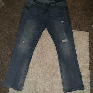 Aeropostale slim straight Jean's, size 36x32